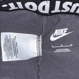 Nike Pants - Nike gray and pink leggings